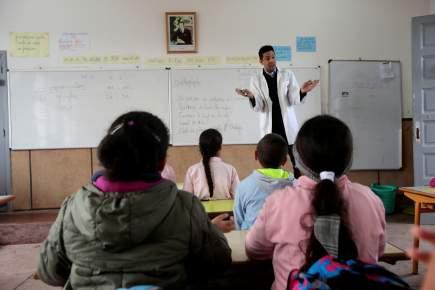 لغة تدريس العلوم والشعب المغبون