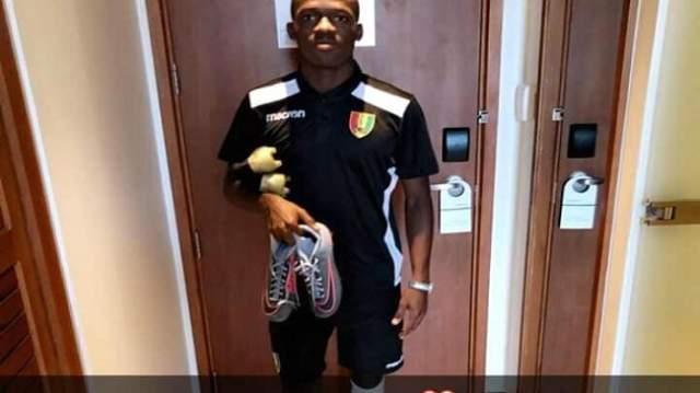 """النهاية القاتلة للاعب منتخب غينيا بعد أن استبعده الـ""""كاف''"""