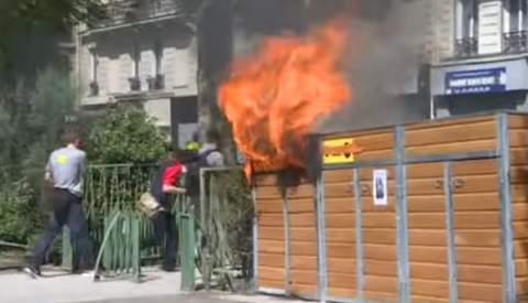 مواجهات دامية وحرائق واعتقالات بالجملة في فرنسا (فيديو)