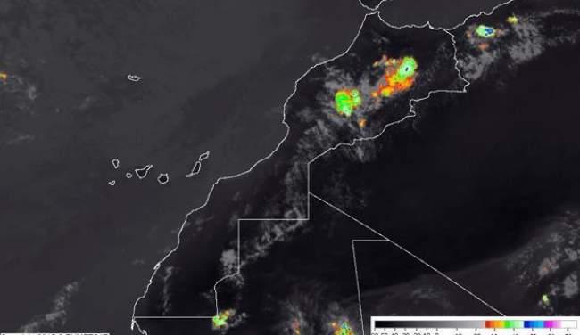 انتبهوا..أجواء غير مستقرة مع زخات رعدية في هذه المناطق المغربية