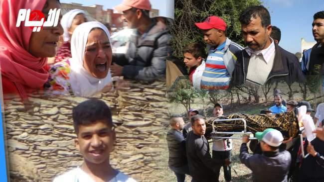 زغاريد ودموع ..هكذا ودعت الوالدة والعائلة ابنها الذي سقط من فوق عمارة بالمحمدية