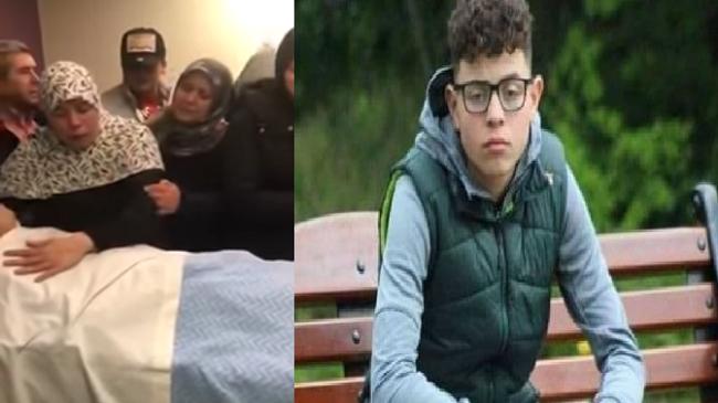 مؤلم..والدة الشاب المغربي المقتول تودعه بكلام مؤثر (فيديو)