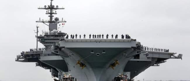 إسبانيا تنسحب من الأسطول الأميركي الضخم المتجه للخليج ..والسبب؟