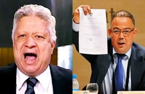 فيديو..فوزي لقجع يرد بقوة على تهديدات رئيس الزمالك المصري