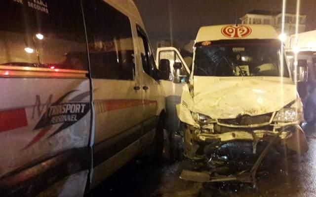 مصرع 3 اشخاص وجرح 14 آخرين في حادثة سير مروعة بطنجة