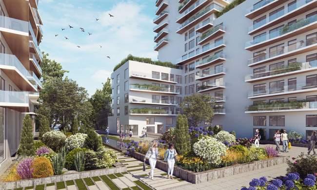 أول برج إيكولوجي يتكون من 16 طابقا في قلب المدينة البيئية زناتة