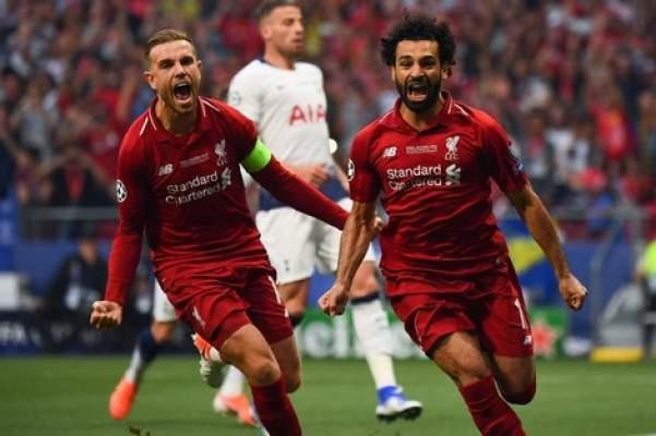 """صلاح يقود فريقه ليفربول لإحراز لقب """"أبطال أوروبا"""" على حساب توتنهام"""