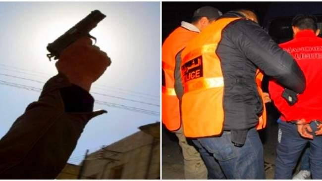 فاس .. الرصاص لتوقيف شخص هاجم الشرطة بسيف