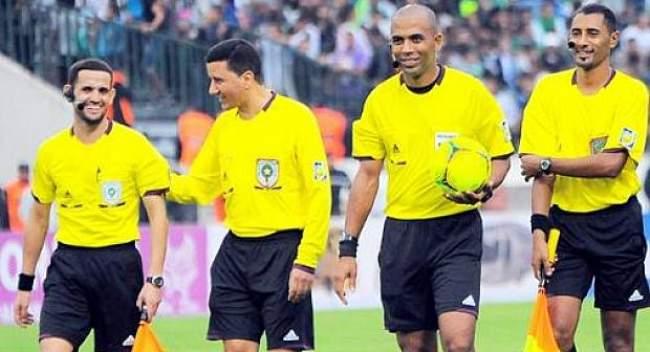 أربعة مغاربة ضمن القائمة النهائية لحكام بطولة أمم إفريقيا 2019