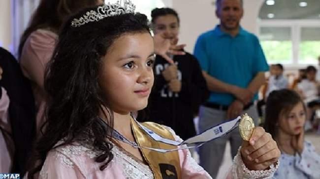 فوز الطفلة المغربية فردوس بتحدي القراءة العربي في ألمانيا