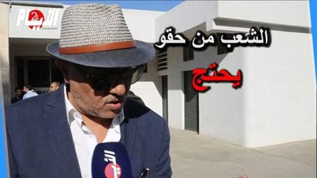 """البرلماني الشناوي مصطفى: """"الحكومة كتكذب على الناس و تريد تعليق فشلها على جماعة العدل والإحسان"""""""