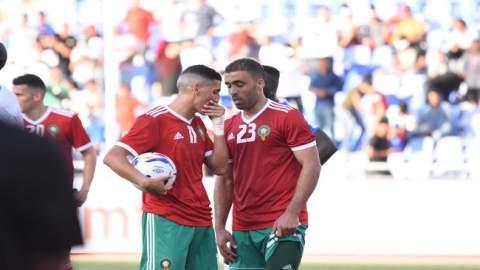 فيديو.. حمد الله وصافرات الاستهجان تلاحق فيصل فجر كلما لمس الكرة