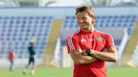 الرسالة التي وجهها رونار للجماهير المغربية بعد مباراة ناميبيا