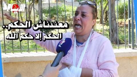 """اعتداء شنيع على سائقة طاكسي """"القضاء منصفنيش معندناش الحكم"""""""