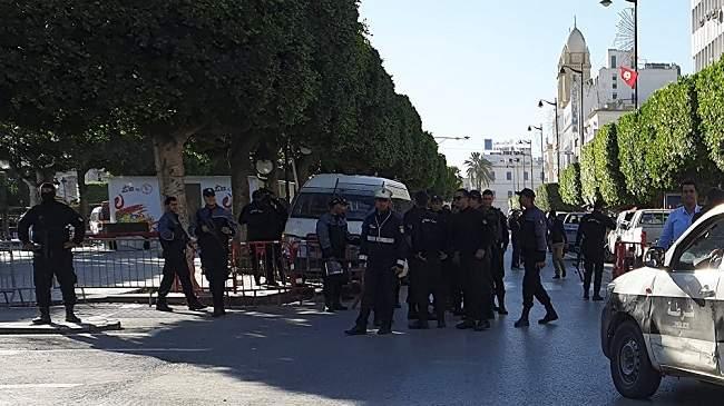 بالفيديو..تفجير انتحاري يهز العاصمة التونسية