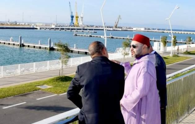 الملك يحل بطنجة لدشين أكبر ميناء في إفريقيا والمتوسط