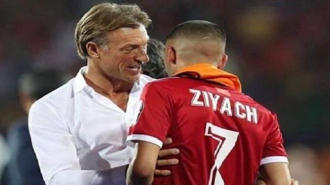 زياش يخرج من تشكيلة المنتخب المغربي