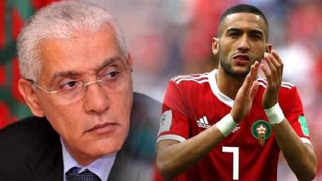 اللاعب والوزير..زياش ينسف رواية العلمي ويتهمه باختلاق الأكاذيب