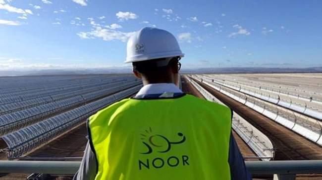 """ستتجاوز إنتاج """"نور"""" ورزازات..تفاصيل محطة الطاقة الشمسية بميدلت"""