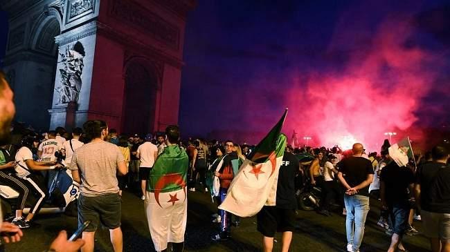 جزائري يحتفل بمنتخب بلاده يدهس عائلة بسيارة في فرنسا