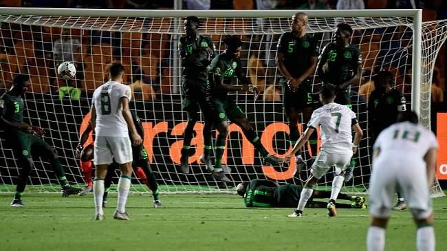 شاهد أقوى لحظات مباراة الجزائر ونيجيريا..هدف قاتل من محرز