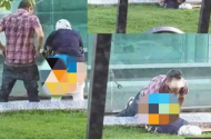 طنجة ..توقيف الشخص الذي ظهر يمارس الجنس مع امرأة في الشارع وهذه قصته