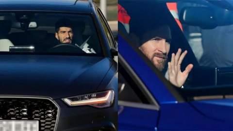 ماركة عالمية تطالب لاعبي برشلونة بإعادة سياراتها