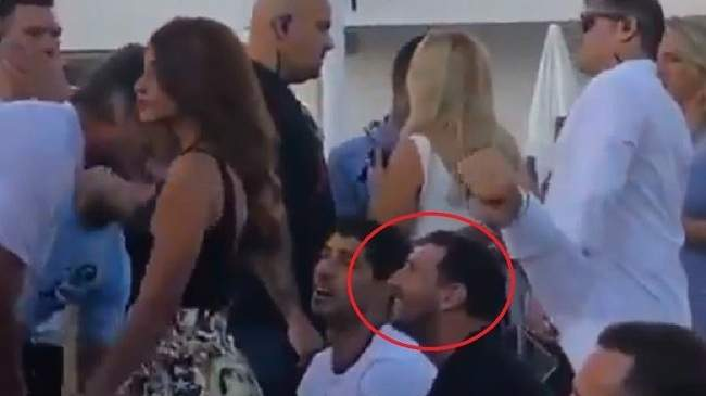 بالفيديو.. محاولة اعتداء على ميسي في حفل غنائي