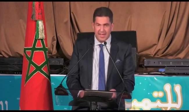 شاهد .. تلعثم الوزير أمزازي يصل قناة الجزيرة !