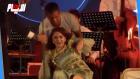 ميادة الحناوي تسقط فوق خشبة المسرح بتونس والسبب غريب