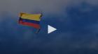 بالفيديو.. مقتل ضابطين سقطا من هليكوبتر أثناء عرض عسكري