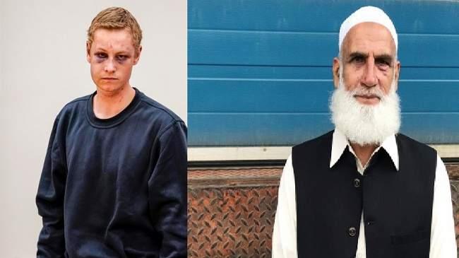 ستيني باكستاني ينقذ مسلمي النرويج من المجزرة..قبض على الإرهابي وأشبعه ضربا