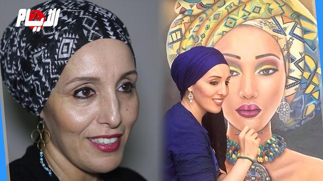 فنانة عصامية تترجم قوة المرأة عبر لوحات تتنافس في تقديم الجمال