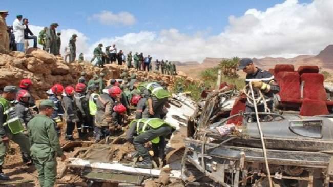 رجال الانقاذ يعثرون على جثث أخرى في الرشيدية والحصيلة أصبحت ثقيلة