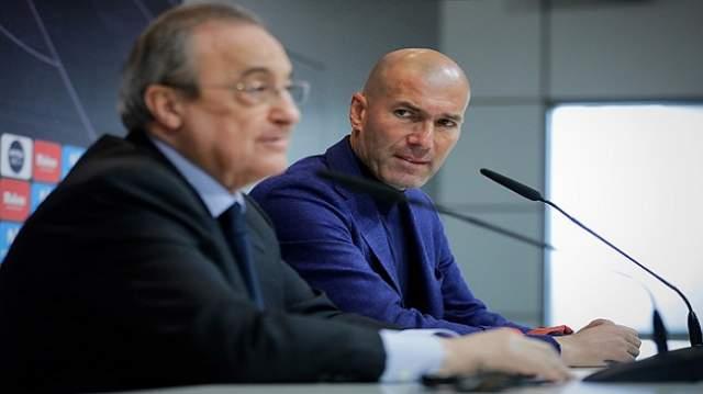 رئيس ريال مدريد يحسم موقفه بشأن هوية بديل زيدان
