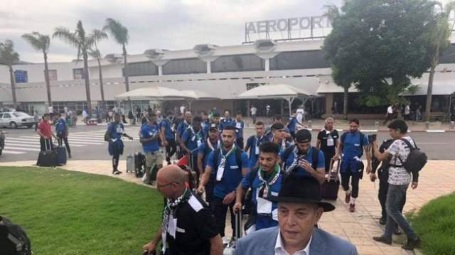 الاحتلال الاسرائيلي يمنع لاعبين من السفر إلى المغرب لمواجهة الرجاء