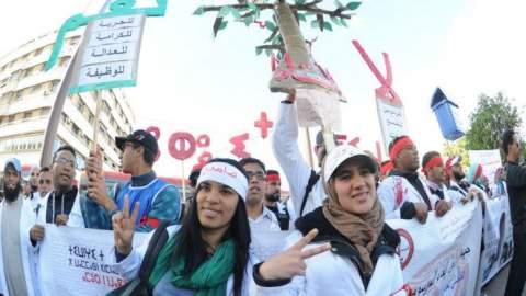 الصراع يتجدد.. إضراب وطني واحتجاجات للأساتذة ضد الحكومة