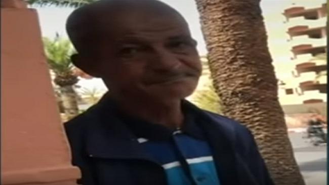 فيديو السخرية من رجل فقير في مراكش يصل القنوات العالمية