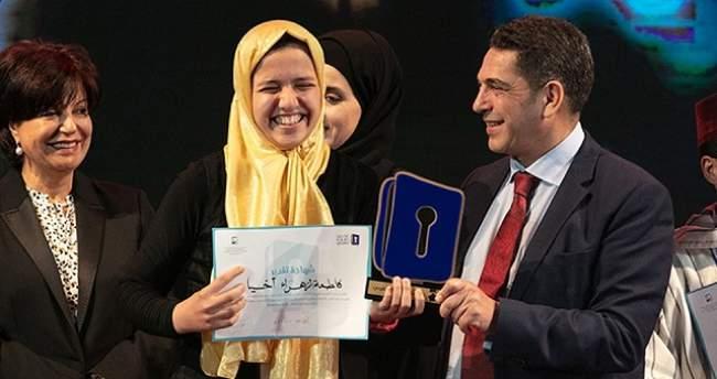 """المغربية فاطمة الزهراء أخيار تصل المراحل الأخيرة من """"تحدي القراءة العربي"""""""