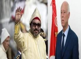 الملك يهنئ قيس سعيد ويشيد بنجاح الاستحقاق الرئاسي في تونس