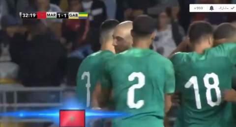 المغرب يخسر وديا أمام الغابون بمدينة طنجة