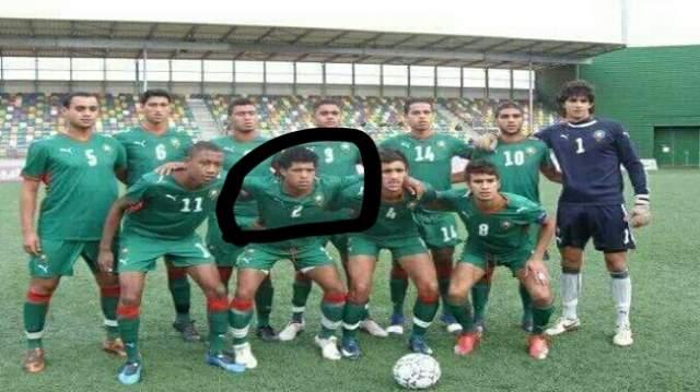 """صور..لاعب المنتخب الوطني ضاقت به السبل فاختار """"الحريك"""" إلى إسبانيا"""