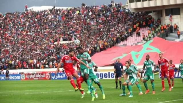 """توقيت الديربي """"العربي"""" يقلق منظمي كأس محمد السادس"""