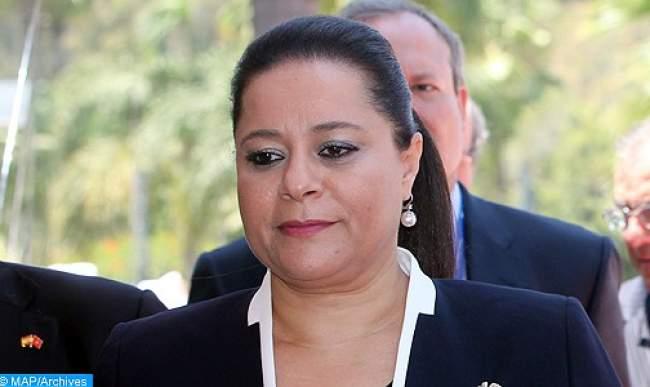 بنصالح صاحبة ولماس تصبح ابنة الرئيس الجزائري الحالي